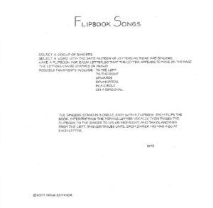 FLIPBOOKSONGS